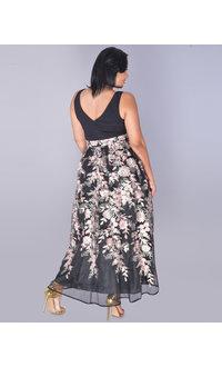 MIDGE- Embroidered Sleeveless Gown