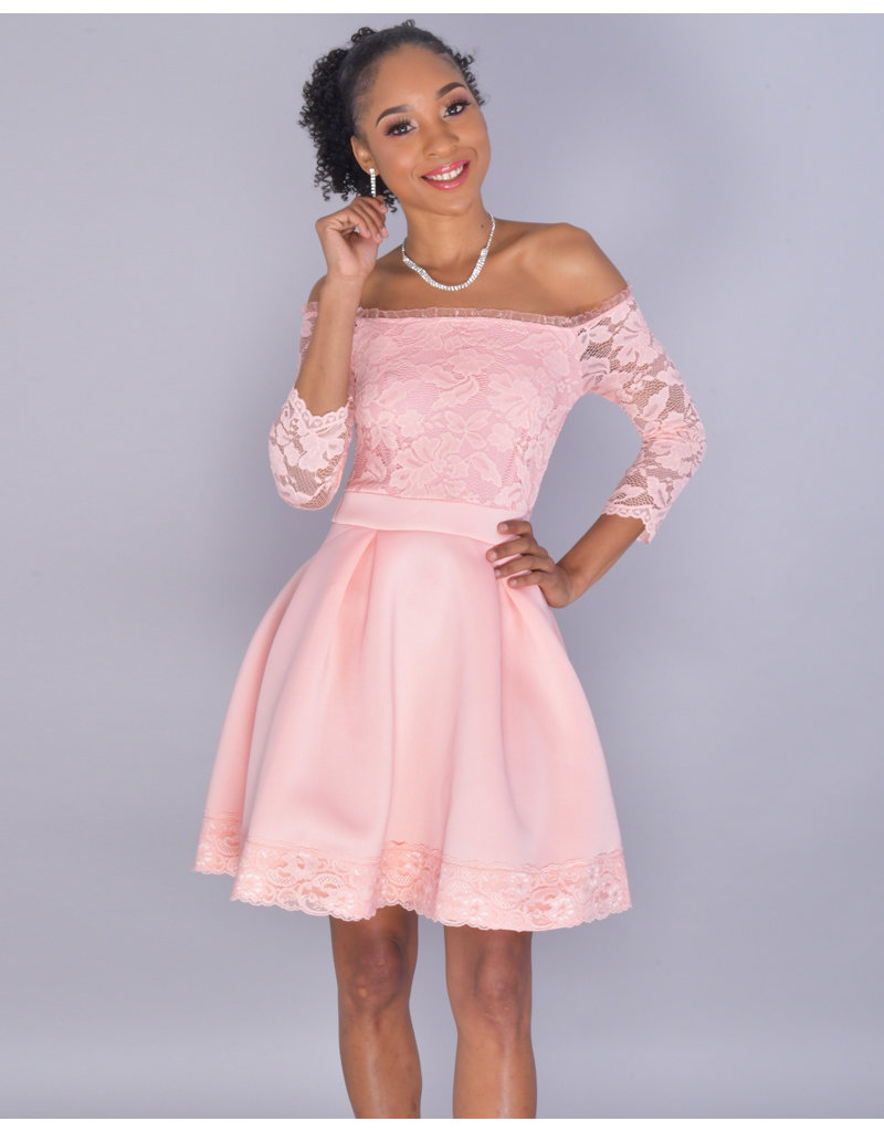 9453dd2c6d21 Ulima-CAR off/sh lace tp 3/4 slvs bx plts - Harmonygirl.com