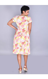 Shelby & Palmer IDIVYA-Floral Puff Print Crossover