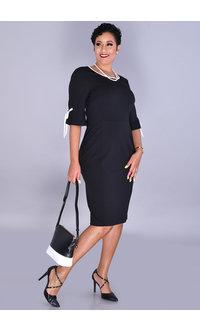 RAYLEY- Tie Sleeve Sheath Dress