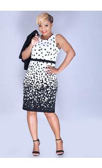 Studio One BAILA- Printed Dress with Jacket
