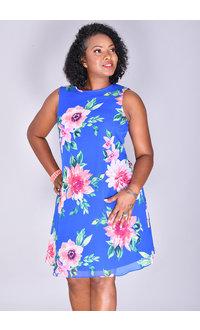 Jessica Howard FLYNN- Floral Print Shift Dress