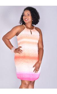 FRIDA-Tie-Dye Strappy Dress