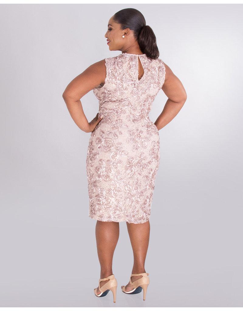 ONXY Nite LEEANN- Sleeveless Dress with Applique