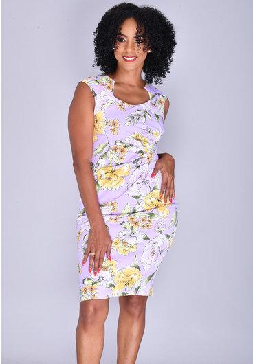 Shelby & Palmer RONIA- Printed Sheath Dress
