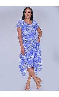 LAVA- Printed Short Sleeve Handkerchief Bottom
