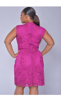 MARLY- Scallop Hem with Applique
