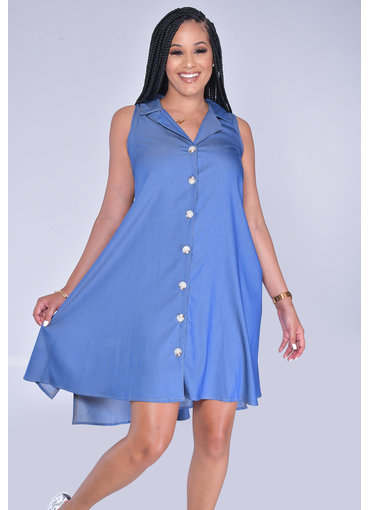 MLLE Gabrielle WARD- Armhole Dress with Collar