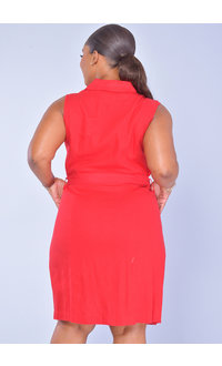 GLAMOUR NASH-ShirtDress with Pockets