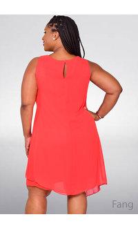 FANG- Draped Sleeveless Dress