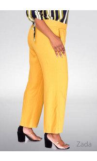 Land & Sea ZADA- Cotton Pants with Elastic Waist