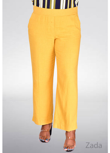 Land & Sea ZADA- Cotton Pants with Elastic Waist