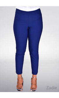 Counterparts ZADIE- Slim Ankle Crop Pants with Pockets