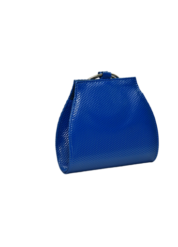 KMQ Textured Bag with Double Wristlet