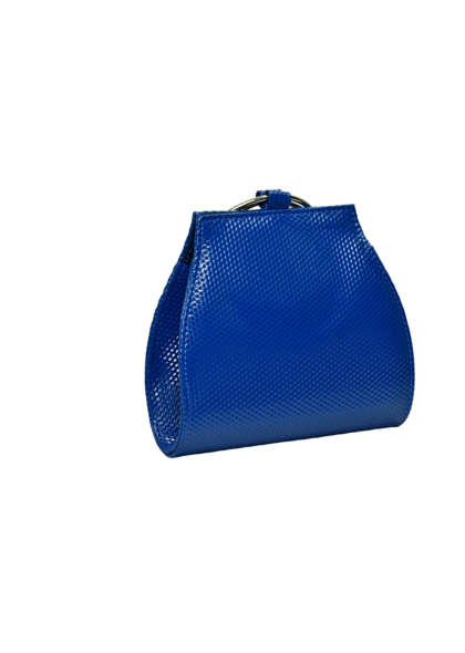 KMQ Textured Bag with Double Wristlet
