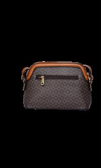 KMQ Small Printed Hand Bag with Long Strap