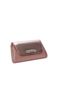 CECI Glitter Clutch with Shinny Flap