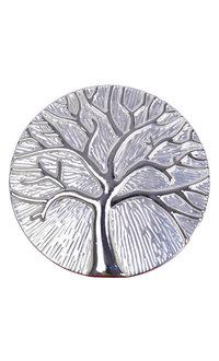 AJ Fashions Tree of Life Round Magnetic Brooch