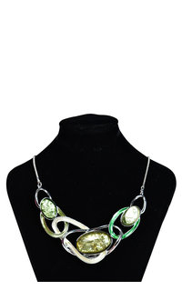 AJ Fashions Multi Shaped Necklace Set