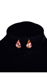 V-Shape 2 Layer Tear Drop Earring
