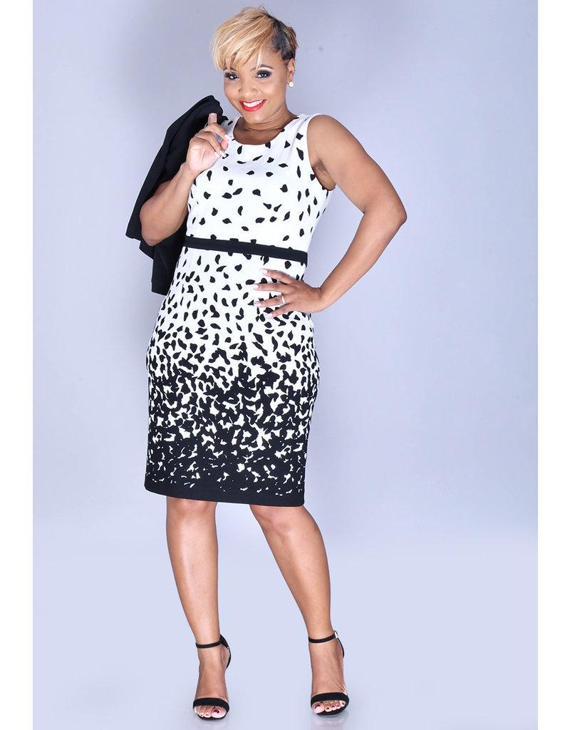 Studio 1 BAILA- Printed Dress with Jacket