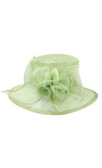 3 Rose Medium Sinamay Derby Hat