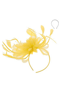 Headband Cluster Loop Daisy Flower Fascinator