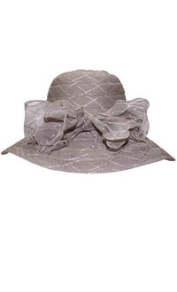 Beach Hat with Bow On Side