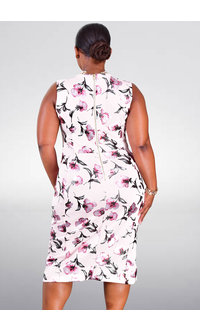 Shelby & Palmer UMIAH- Floral Sheath Dress