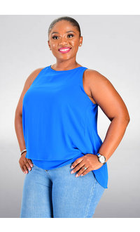 Jessica Rose VERLYN- Armhole Top with Overlay
