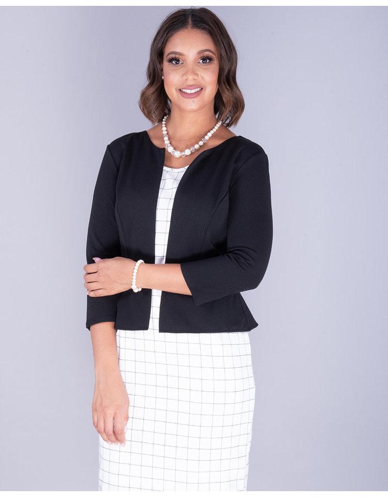 Kara Girl RIKITA- Checkered Jacket- Look Dress With Belt