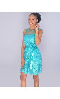 Capricho MANULEA- Petite Illusion Embroidered Dress