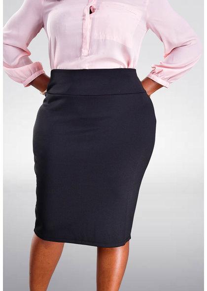 JEMMA Scuba Solid Skirt