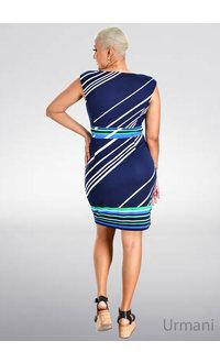 URMANI- Mix Print Sheath Dress
