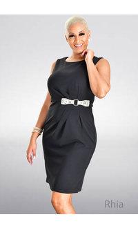 GLAMOUR RHIA- Armhole Dress with Snake Buckle