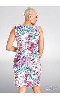 GAFNA- Geo Print Sheath Dress