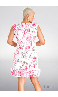 UMICA- Printed Tulip Dress