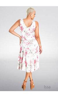ISSA- Printed Sheath Dress