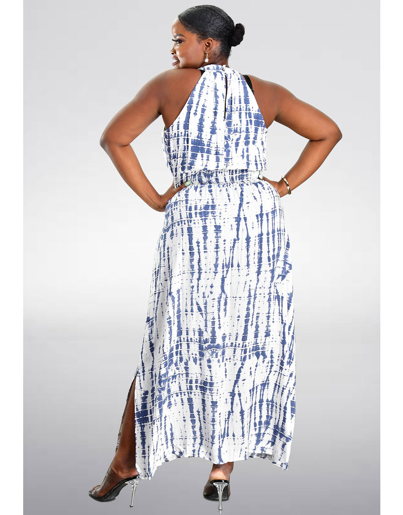 Sandra Darren KINGLEY- Tie Dye Maxi Dress