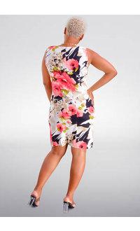 GRETCHEN- Printed Sheath Dress