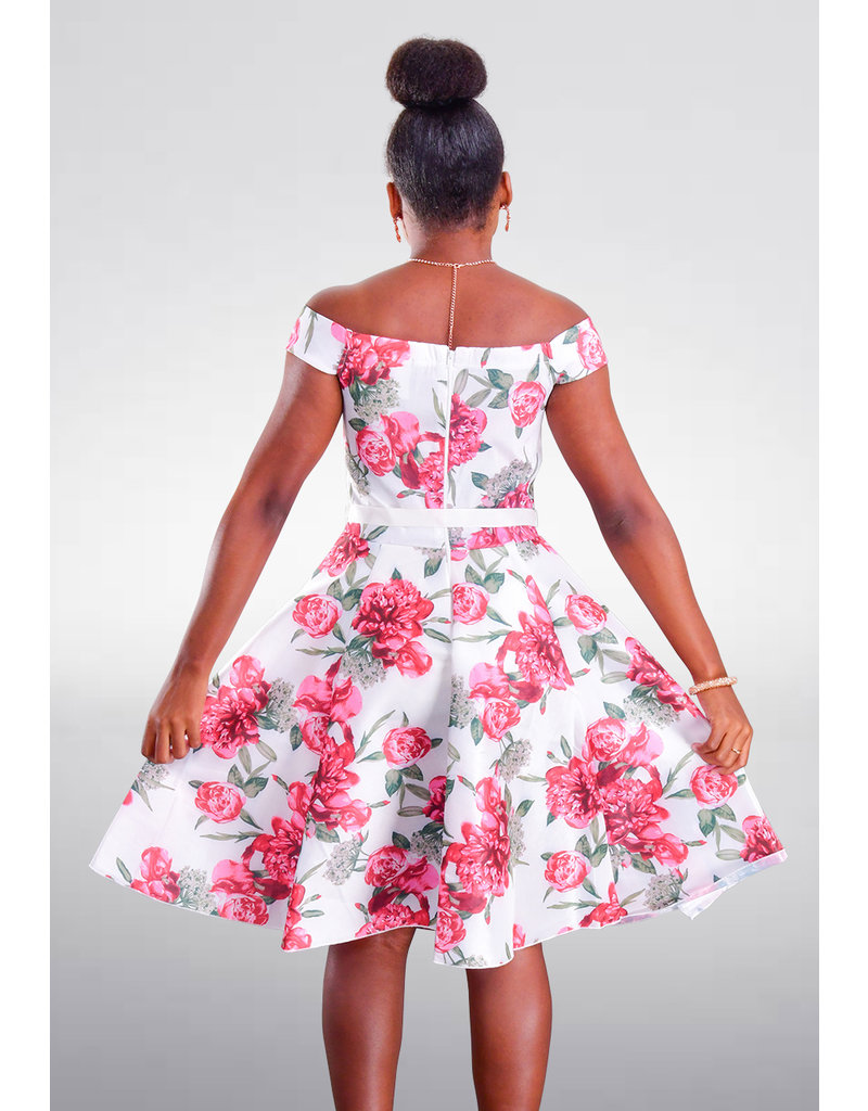 DUUL.CE TAMICA- Floral Fit and Flare Dress