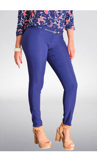 Pyramide Zowie- Slim Fit Double Button Pants