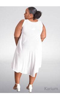 SEVEN ISLANDS KARIUM- Plus Size Armhole Tent Bottom Dress