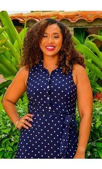 Sandra Darren ICE- Polka Dot Shirt dress