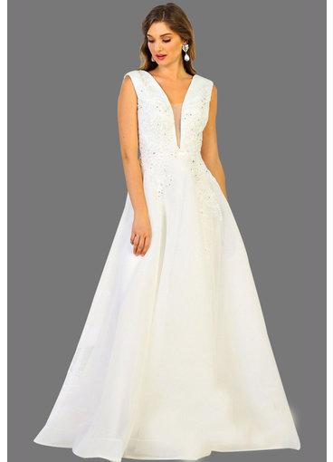 QUIANA- Armhole Bridal Dress