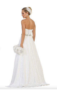 QUEST- Strapless Bridal Dress