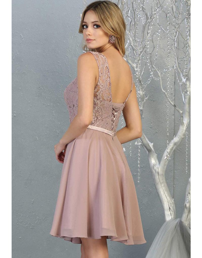 QUADE- Short Armhole Dress