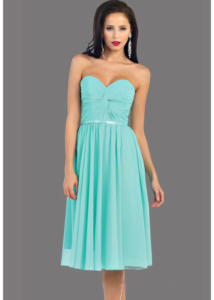 QUINCE- Tube Top Dress with Knot