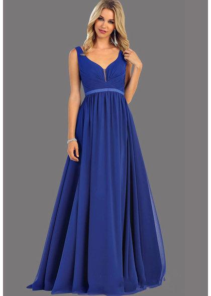 QUINTINA- Broad Strap Long Dress