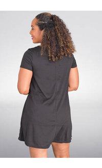 GETS OTELIA- Short Sleeve Dress with Pockets